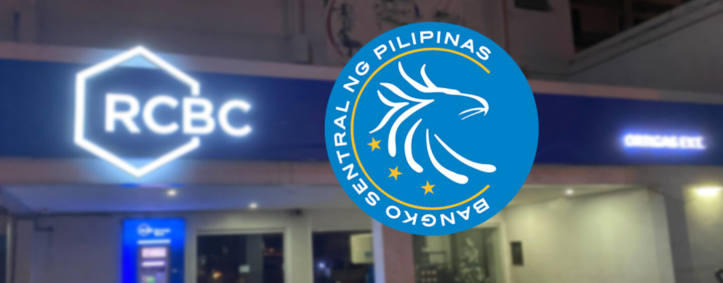 BSP Monetary Board Grants RCBC Approval Distribute COVID-19 Relief Fund