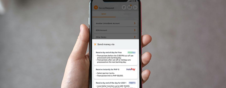 UnionBank Extends Its Free Instapay Transfers