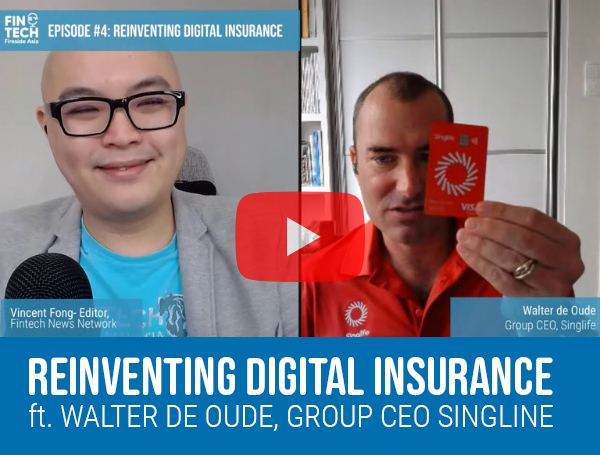 Reinventing Digital Insurance ft. Walter de Oude, Group CEO Singlife